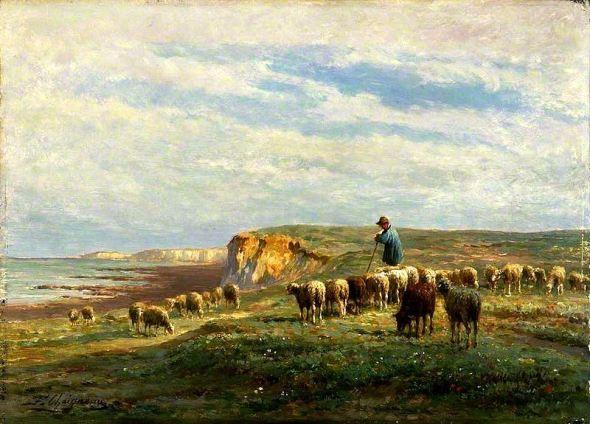 Ferdinand Chaigneau – Troupeau de moutons